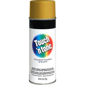 Rust-Oleum Touch and Tone Multi-Purpose Gold Fade Resistant Enamel Spray Paint (Actual Net Contents: 10-oz)