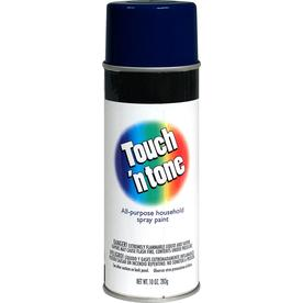 Rust-Oleum Touch and Tone Multi-Purpose Dark Blue Fade Resistant Enamel Spray Paint (Actual Net Contents: 10-oz)