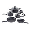 WearEver 10-Piece Comfort Grip Aluminum Cookware Set with Lids