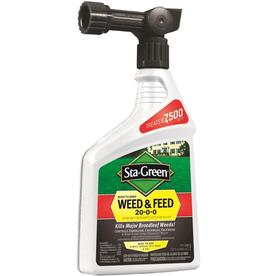 Sta-Green 7,500-sq ft Ready-to-Spray Weed and Feed Lawn Fertilizer (20-0-0)