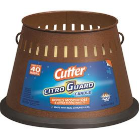 Cutter 4-in Painted Deck Citronella Candle