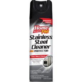 shop home remedy plus 16 oz stainless steel cleaner at. Black Bedroom Furniture Sets. Home Design Ideas