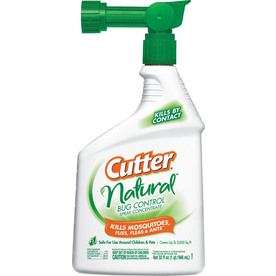 Cutter 32 oz Natural Area Mosquito Repellent Hose End Sprayer HG-95962
