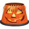 Cutter 4-in Halloween Painted Tabletop Citronella Candle