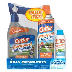 Cutter Mosquito Control Valu Pack- Ready-To-Spray, Fogger and Repellent