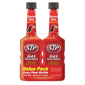 STP 2-Pack 5.25 Oz. Gas Treatment