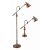 59-in Antique Brass Touch On/Off Indoor Table Lamp with Metal Shade