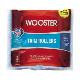 Wooster 2-Pack 3/8-in Nap High Capacity Roller Covers