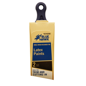 Blue Hawk Angle Sash Synthetic Paint Brush (Common: 2-in; Actual: 2.1-in)