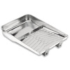Blue Hawk 11.39-in x 16.37-in Reusable Metal Paint Tray