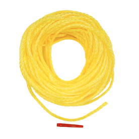 Lehigh 3/8-in x 50-ft yellow Braided Polypropylene Rope