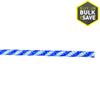 Blue Hawk 0.375-in Braided Polypropylene Rope (By-the-Foot)