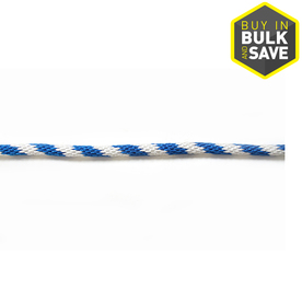 Blue Hawk 5/8-in Braided Polypropylene Bulk Rope (By-the-Foot)