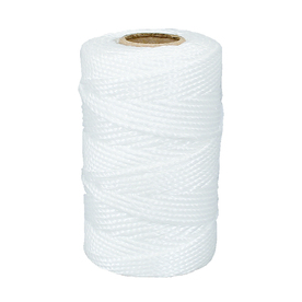 Lehigh 1/16-in x 230-ft White Twisted Polypropylene Rope