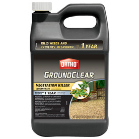 ORTHO 1-Gallon GroundClear Complete Vegetation Killer Concentrate