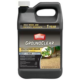 ORTHO GroundClear 128-oz Complete Vegetation Killer Concentrate