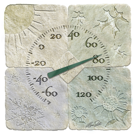 Garden Treasures 14&#034; Indoor/Outdoor Thermometer
