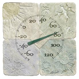 """Garden Treasures 14"""" Indoor/Outdoor Thermometer"""