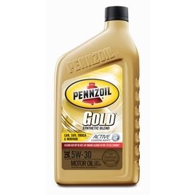 Shop pennzoil 32 oz 5w 30 synthetic blend engine oil at for Pennzoil 5w 30 synthetic motor oil