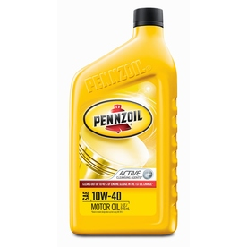 Pennzoil 32-oz 4-Cycle 10W-40 Conventional Engine Oil