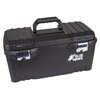 Blue Hawk 20-in Black Plastic Lockable Tool Box
