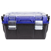 Kobalt Zerust 18-in Black Plastic Lockable Tool Box