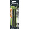 Sharpie 2-Pack Black Pen Grip Retractable Fine Point Pens