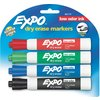 Expo 4-Pack Low Odor Dry Erase Markers
