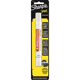 Sharpie White Mean Streak Permanent Marking Stick