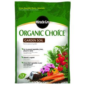 Miracle-Gro 1.5 cu ft Flower and Vegetable Garden Soil