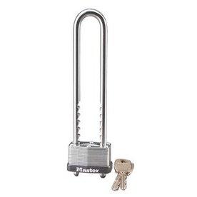 Master Lock 1.718-in Gray Steel Adjustable Shackle Keyed Padlock