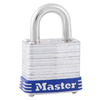Master Lock 1.19-in W Steel Regular Shackle Keyed Padlock
