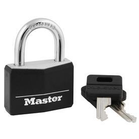 Master Lock 1.78-in W Aluminum Regular Shackle Keyed Padlock