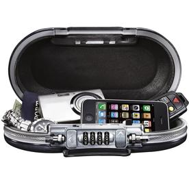 Master Lock SafeSpace Portable Personal Safe Grey