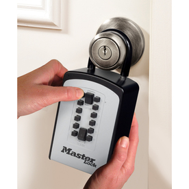 Master Lock Push Button Key Safe