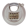 Master Lock 2.76-in Silver Steel Combination Padlock