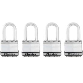 "Master Lock 4-Pack 1-3/4"" Laminated Padlock"