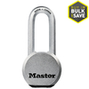 Master Lock 2.5-in Silver Steel Shackle Keyed Padlock
