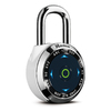 Master Lock 2.062-in W Steel Regular Shackle Keyed/Combination Padlock