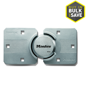 Master Lock 9.06-in Silver Steel Shackle Keyed Padlock