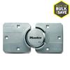 Master Lock 9.06-in Silver Steel Shackle Keyed Padlock