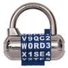 Master Lock 2.5-in W Steel Regular Shackle Keyed/Combination Padlock
