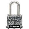 Master Lock 1.642-in W Steel Long Shackle Keyed Padlock