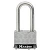 Master Lock 1.785-in W Steel Long Shackle Keyed Padlock