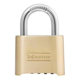 "Master Lock 6.56"" Brass Lock Cable"