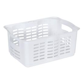 Rubbermaid 10-in W x 6.5-in H x 13.5-in D White Plastic Bins