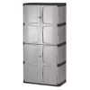 Rubbermaid Commercial Products 72-in x 36-in 2-Drawer Plastic Tool Cabinet (Gray/Silver)