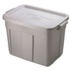 Rubbermaid Commercial Products Roughneck 24-in W x 16.5-in H x 16-in D Steel Gray Plastic Bins