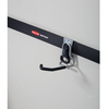 Rubbermaid FastTrack Garage 1-Bike Silver Steel Vertical Bike Hook