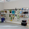 Rubbermaid FastTrack Garage 1-Bike Silver Steel Vertical Bike Hook